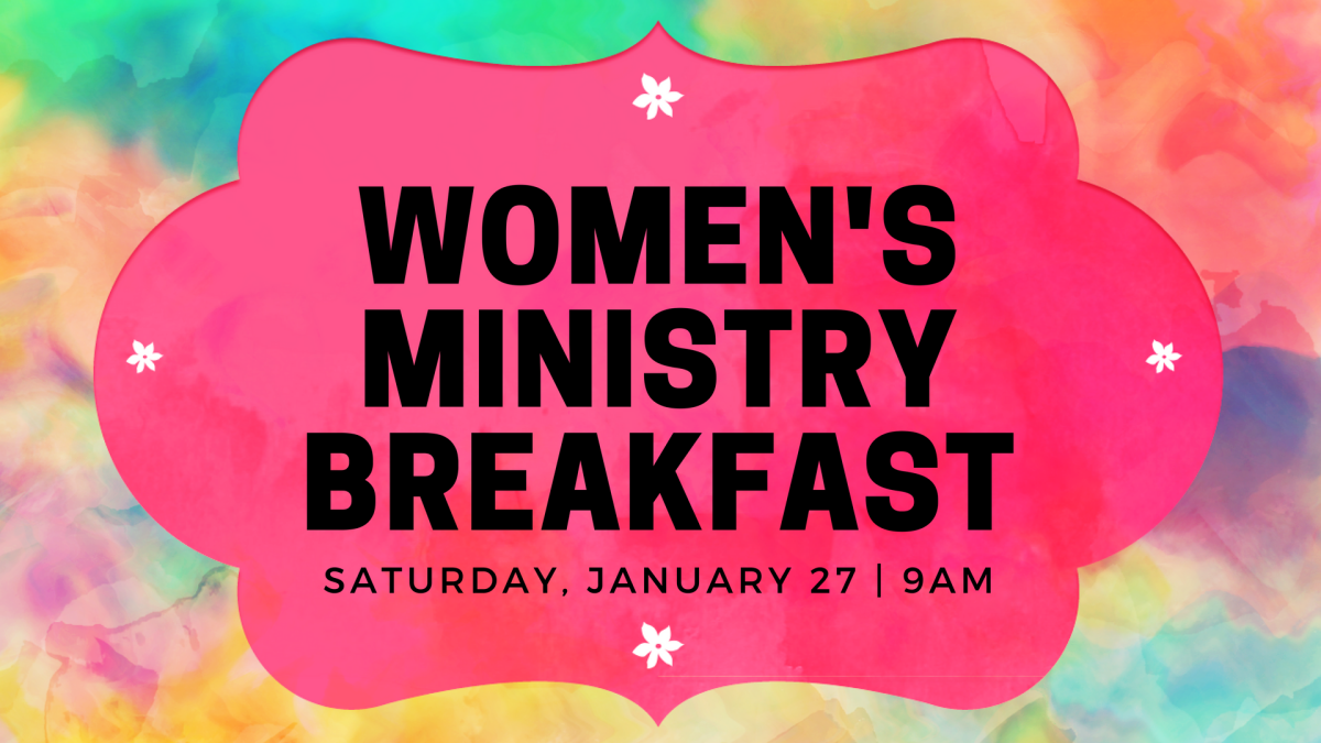 Women's Ministry Breakfast (January 2018)