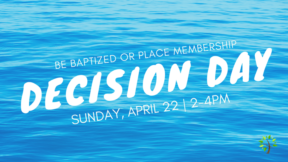 Decision Day (2-4pm)