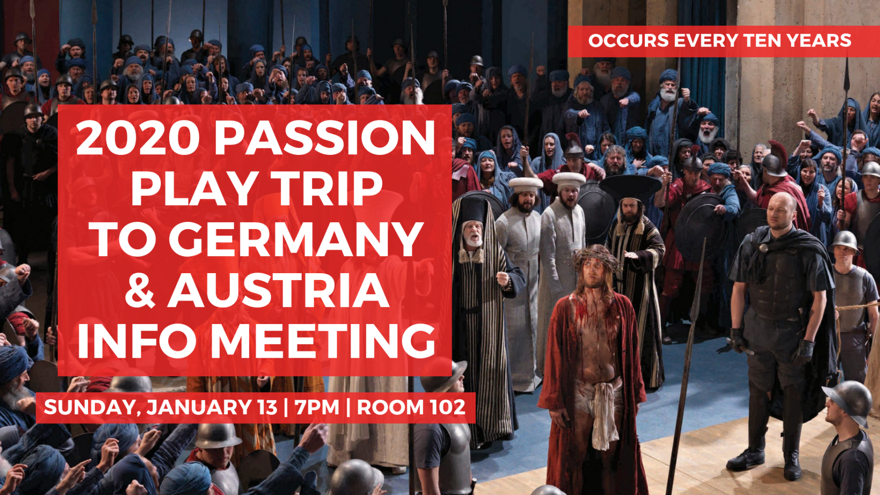 Germany/Austria Passion Play Info Meeting