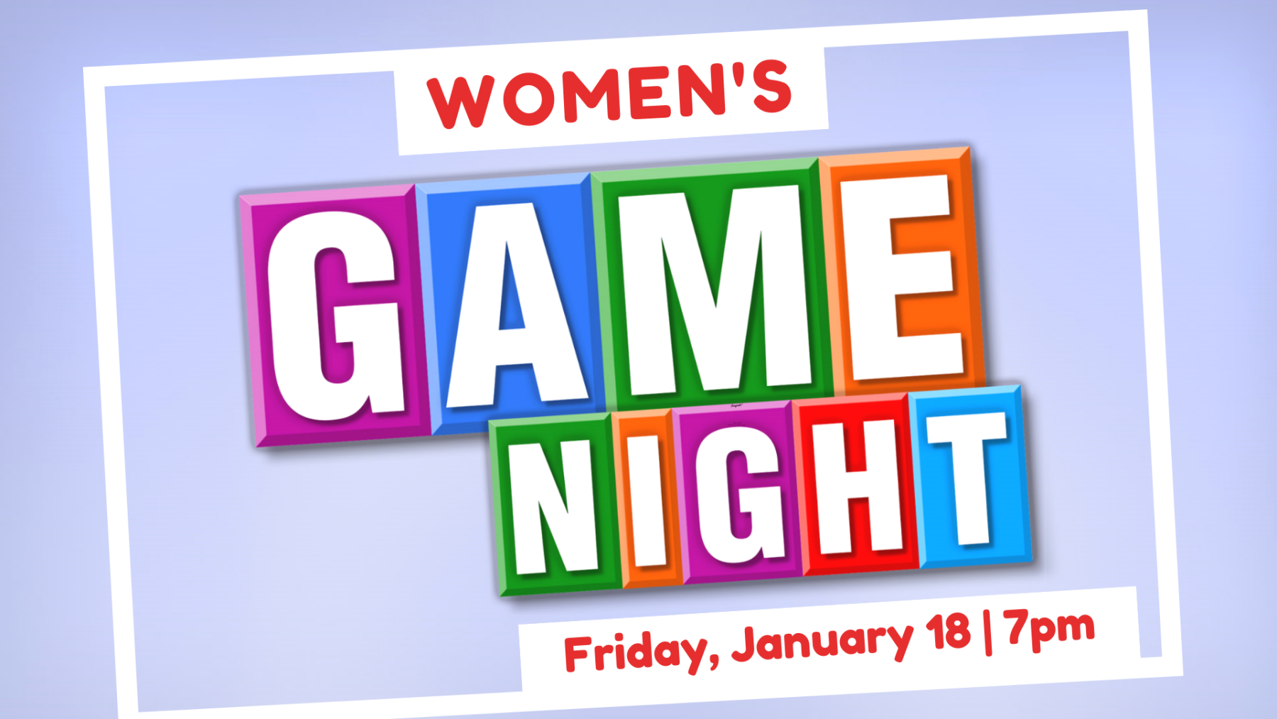 Ladies' Game Night
