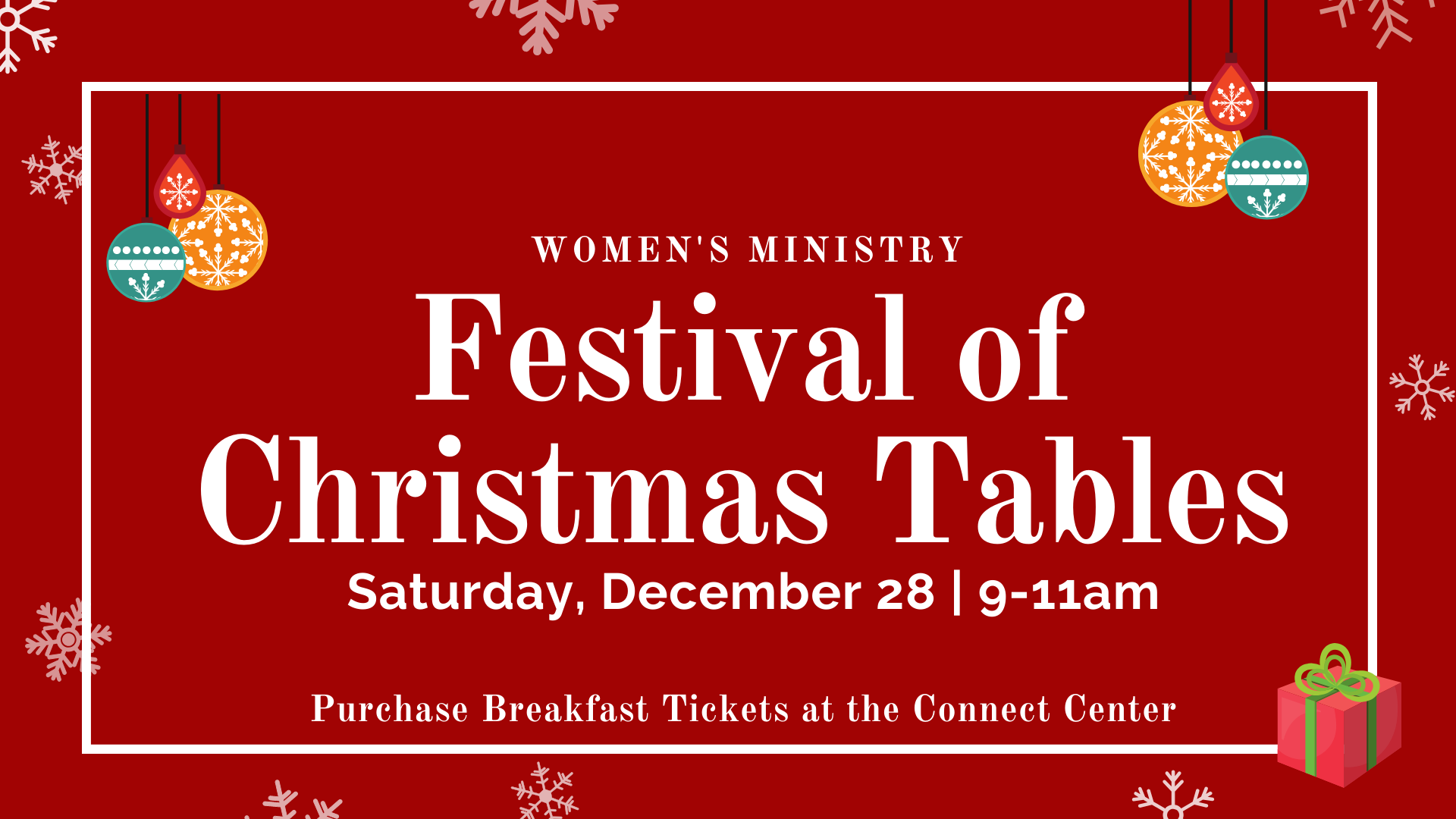 Festival of Christmas Tables